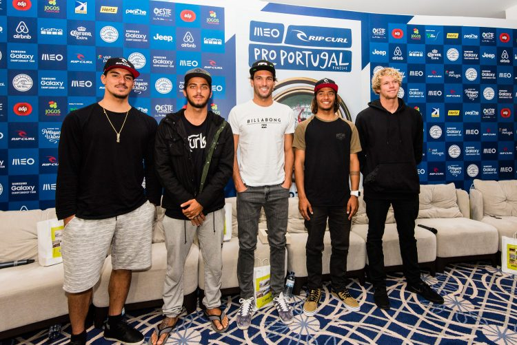 656WSL Title Race and World's Best Surfers Arrive in Peniche for MEO Rip Curl Pro Portugal