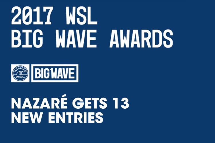 937Nazaré gets 13 more entries at the WSL Big Wave Awards